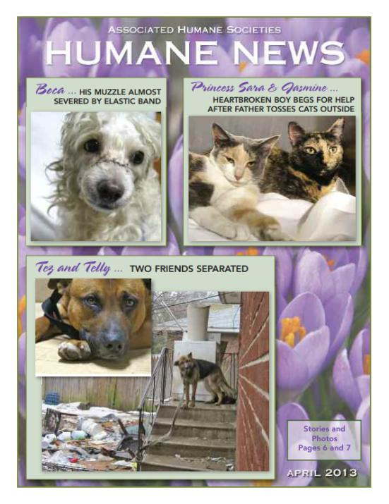 humane news april 2013